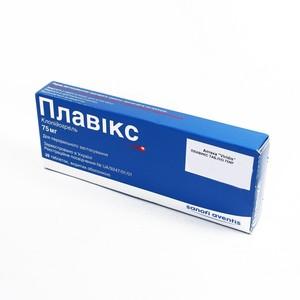 ПЛАВИКС ТАБ. 75МГ №28