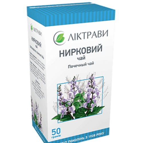ПОЧЕЧНЫЙ ЧАЙ ЛИСТ 50Г купить в Киеве