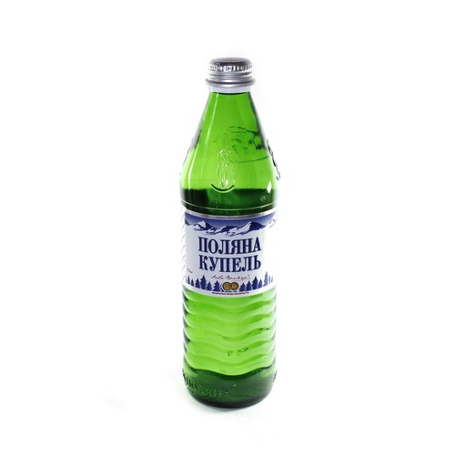 ПОЛЯНА КУПЕЛЬ мин. вода 0,5л (скло)