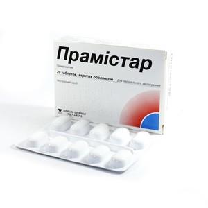 ПРАМІСТАР ТАБ. 600МГ №20