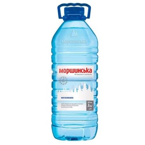 МОРШИНСКАЯ мин.вода 3Л (ПЭТ) н/газ.