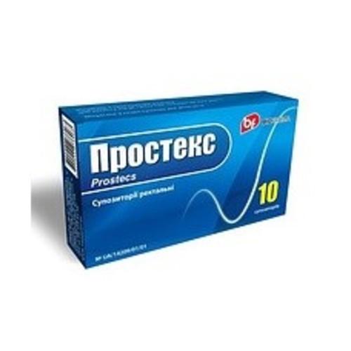 ПРОСТЕКС СУПП. РЕКТ. 0,03Г №10 купить в Ирпене