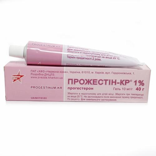 ПРОЖЕСТИН-КР ГЕЛЬ 1% 40Г