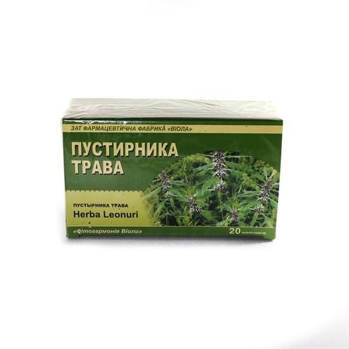 ПУСТЫРНИКА ТРАВА 1,5Г В Ф/П №20 купить в Ирпене