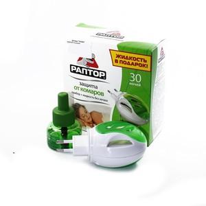РАПТОР Комплект прибор + жидкость 30 ночей