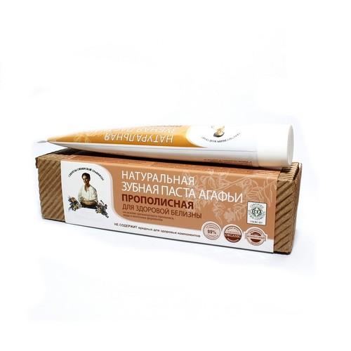 РЕЦЕПТИ БАБУСІ АГАФІЇ Паста зубна Прополісна 75мл купити в Славутиче