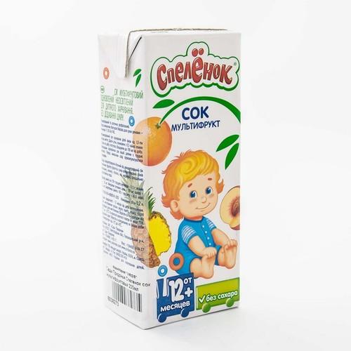 Сады Придонья сок мультифрукт 200мл купить в Житомире