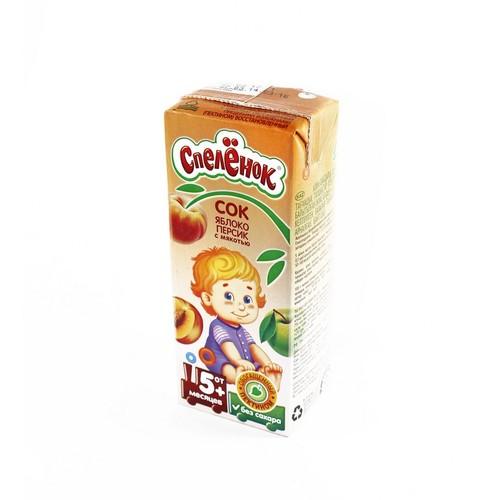 САДЫ ПРИДОНЬЯ Спеленок Сок яблочно-персиковый с пектином,200мл купити в Славутиче