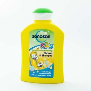 САНОСАН KIDS г/д-шампунь Банан 200мл