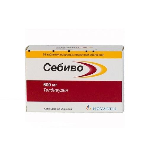 СЕБІВО ТАБ. 600МГ №28 - фото 1 | Сеть аптек Viridis