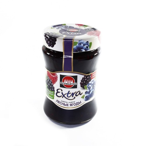 СЭМПЕР Швартау конфитюр экстра лесная ягода 340г купить в Броварах