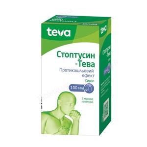 СТОПТУСИН СИРОП 100МЛ