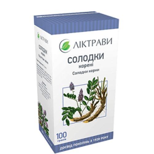 СОЛОДКИ КОРНИ 100Г