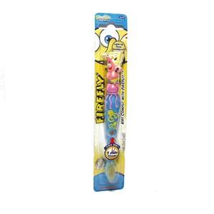 СПАНЧ БОБ Зубная щётка фигурная с подсветкой