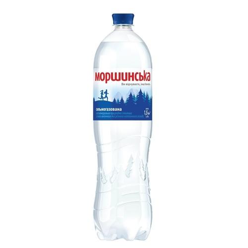 МОРШИНСКАЯ мин.вода 1,5Л (ПЭТ) сильн/газ.