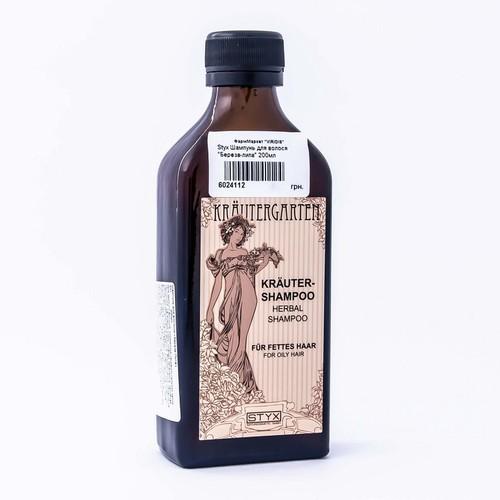 СТИКС Шампунь д/волос Береза-Липа для жирных волос 200мл купить в Житомире