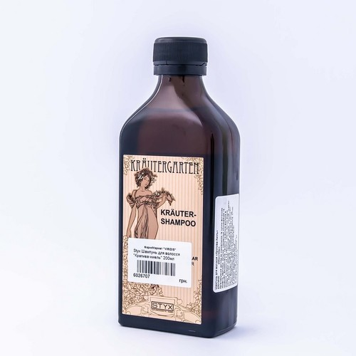 СТІКС Шампунь д/волосся Кропива-Хміль для нормального та сухого волосся 200мл купити в Броварах