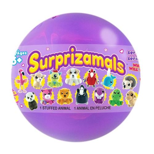 SURPRIZAMALS Мягкая игрушка-сюрприз в шаре в ассортименте
