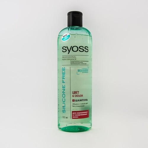 Syoss Шампунь Silicone Free Колір&Об'єм д/вол.500мл. купить в Броварах