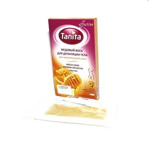 TANITA Віск для депіляції тіла, медовий, 12пласт.
