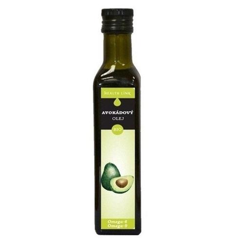 Хэлс Линк Олія авокадо органічна Organic Avocado oil 250ml - фото 1 | Сеть аптек Viridis