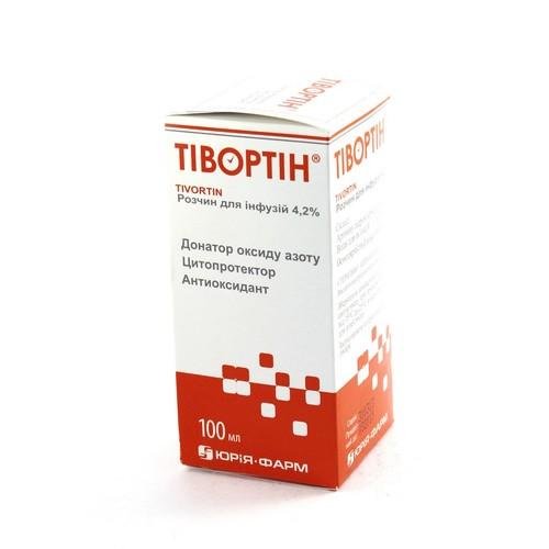 ТІВОРТІН Р-Н Д/ІНФ. 4,2% 100МЛ купити в Житомире