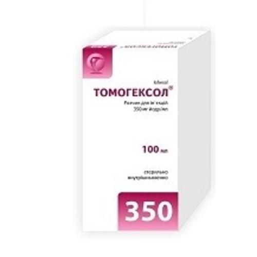 ТОМОГЕКСОЛ Р-Р Д/ИН. 350МГ/МЛ 100МЛ ФЛ. №1 купить в Славутиче