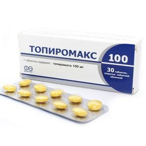 ТОПИРОМАКС ТАБ. 100МГ №30