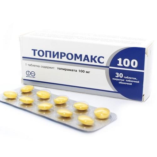 ТОПИРОМАКС ТАБ. 100МГ №30 купить в Житомире