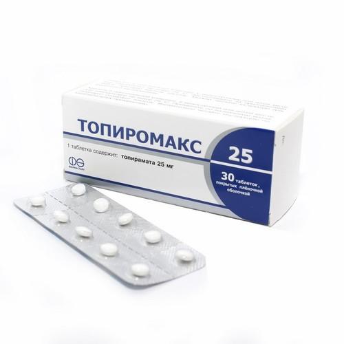 ТОПИРОМАКС ТАБ. 25МГ №30 купить в Житомире