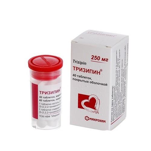 ТРИЗИПІН ТАБ. 250МГ №40 купити в Киеве