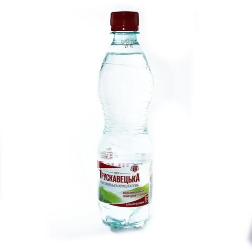 ТРУСКАВЕЦЬКА Кришталева мін. вода 0,5л (ПЕТ) сильн/газ. купити в Житомире