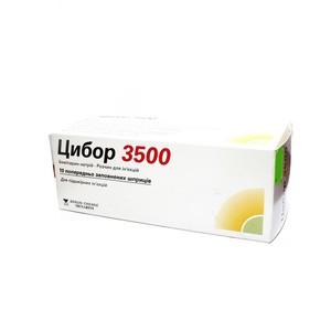 ЦИБОР 3500 Р-Р Д/ИН. 17500МЕ/МЛ 0,2МЛ №10