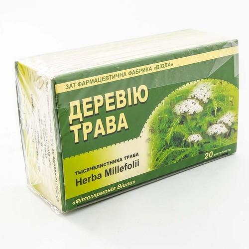 ТЫСЯЧЕЛИСТНИКА ТРАВА 1,5Г Ф/П №20 купить в Славутиче
