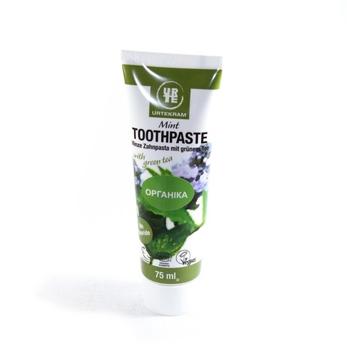УРТЕКРАМ Зубна паста Зелений чай/м'ята 75мл