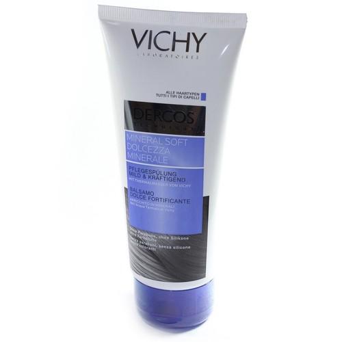 ВИШИ Деркос Смягчающий бальзам с минералами для укрепления волос тюбик 200мл купить в Киеве