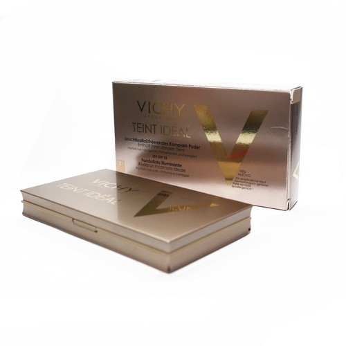 ВИШИ Идеаль Компакт компактная пудра для лица оттенок средний 9,5г купити в Житомире