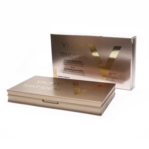 ВИШИ Идеаль Компакт компактная пудра для лица оттенок светлый 9,5г купити в Харкові