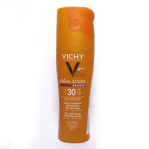 ВІШИ Ідеаль Солей Бронз Сонцезахисний спрей для тіла  ідеальна засмага SPF 30 200мл купити в Киеве