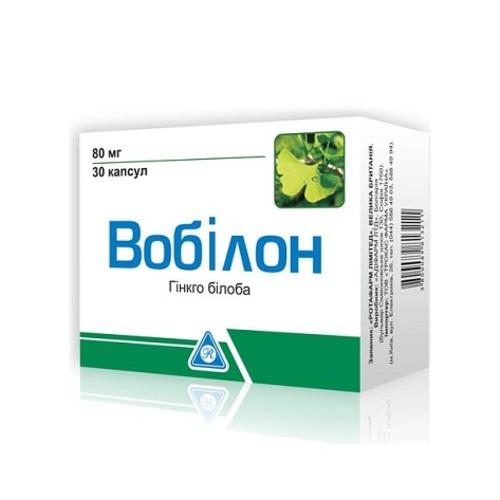 ВОБИЛОН КАПС. 80МГ №30 купить в Славутиче