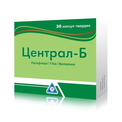 ЦЕНТРАЛ-Б КАПС. №30 - фото 1 | Сеть аптек Viridis