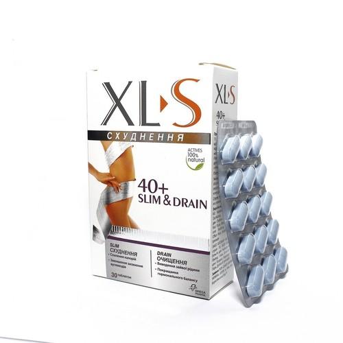 XL>S 40+ SLIM&DRAIN Д/ПОХУДЕН. ТАБ. №30 купить в Харькове